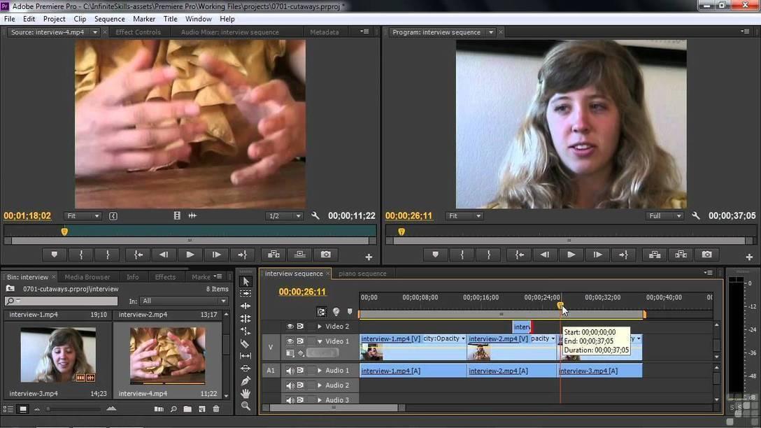 Как из проекта сделать видео в adobe premiere