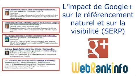 L'impact de Google+ sur le référencement nature... | LES INFLUENCEURS | Scoop.it