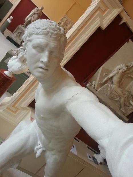 Ancient Statues Pose for Selfies | Humanidades | Scoop.it