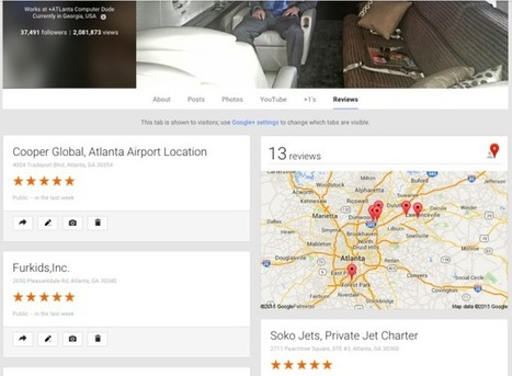 I will google Plus Local Business REVIEW via my profile of 40k | Seo Marketing and Curation | Scoop.it