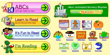 Starfall's Learn to Read with phonics   Early years literacy   Scoop.it
