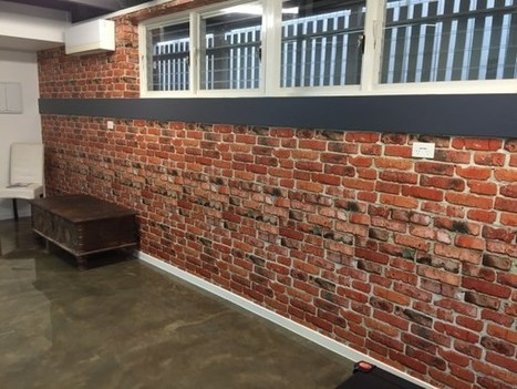 Brick Wallpaper Installation - The Grange, Brisbane - Wow Wallpaper Hanging | Interior Wallpaper | Scoop.it