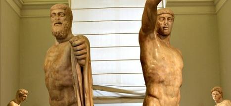 Les Tyrannicides d'Athènes, ou l'éternel présent des statues   Blanc grec   Scoop.it
