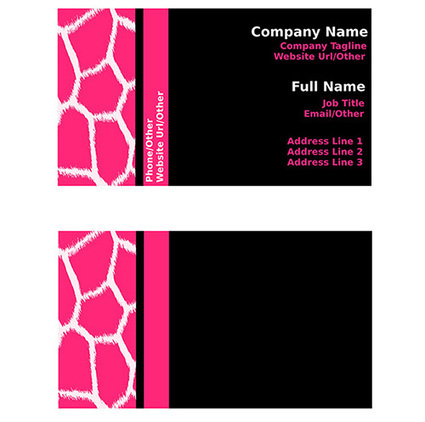 20 Inspirative Black Business Card Templates | Business Cards | Scoop.it