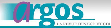 "La revue ""Argos"" désormais disponible gratuitement en ligne.   CDI-GGSB-PROF   Scoop.it"