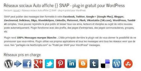 Poster automatiquement ses articles sur Google + - 366jourspour | Blogueur-débutant ... une veille pour progresser | Scoop.it