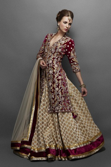 Bollywood Style Indian Outfits Online- Zarilan | indian wedding dresses | Scoop.it