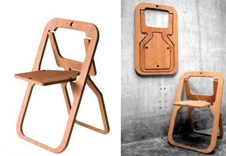 10 Easy Pieces: Folding Dining Chairs | Interior & Decor | Scoop.it