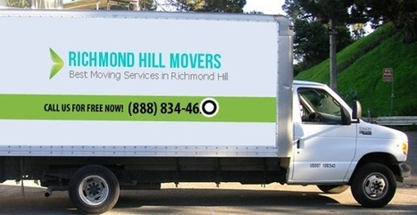 Moving Company In Richmond Hill Canada by Brenda  Rodriguez | Richmond Hill Movers | Scoop.it