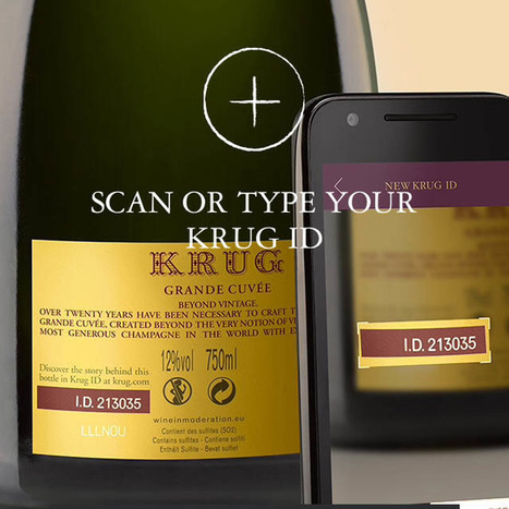 New App from Krug Tells a Detailed Story of Your Champagne | Hump day hot sheet -- Jackson Family Wines | Scoop.it