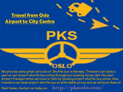 Travel from Oslo Airport to City Centr   pksoslo1   Scoop.it