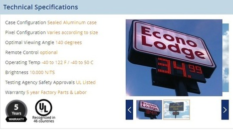 Buy Digital Hotel Rate Changer For Better Visibility & Bookings | Industrial Led Displays - Adsystemsled | Scoop.it