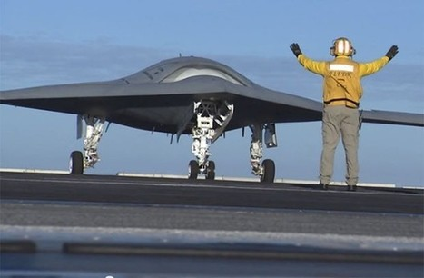 X-47B unmanned jet fighter starts light workouts aboard USS Truman (video) | Digital-News on Scoop.it today | Scoop.it