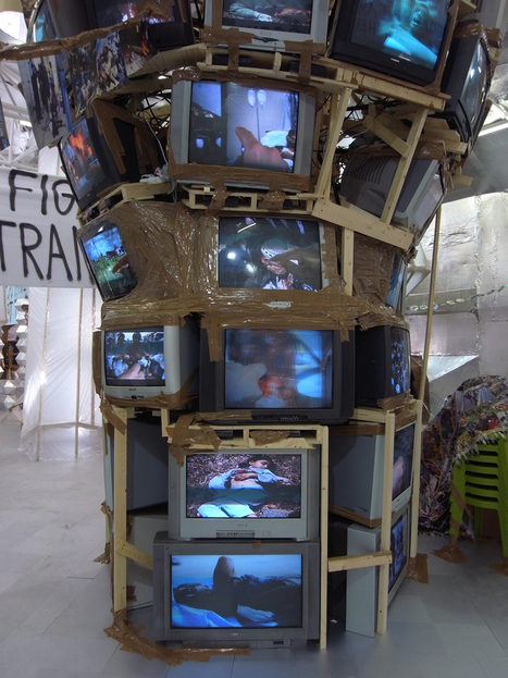 Thomas Hirschhorn: Crystal of resistance - Biennale de Venise 2011 | Regards contemporains | Scoop.it