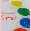 Rainbow slime in preschool | Teach Preschool | Scoop.it