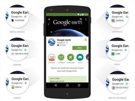 Google mostrará calificación por edad en aplicaciones y juegos de la tienda Play | GeeksRoom | Geeky Tech-Curating | Scoop.it