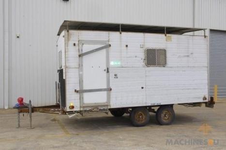 1995 Jakab Industries Tandem Axle Site Van | Farm Machinery | Scoop.it