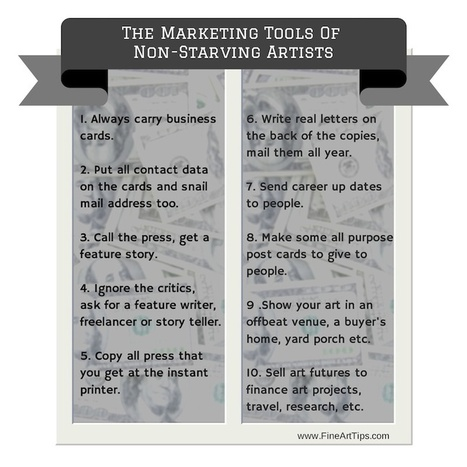 Marketing Tools for Artists by the Non-Starving Artist   Fine Art Tips   Scoop.it