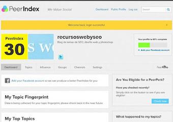 recursos web y seo: Herramientas para medir nuestra influencia online   Herramientas digitales   Scoop.it