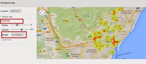 Geoinformación: Como crear un mapa de concentración de clientes desde una hoja de cálculo de Google | #GoogleMaps | Scoop.it