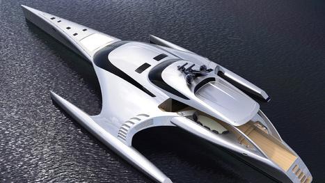 This Trimaran Must Really Be a Secret Alien Ship | Art, Design & Technology | Scoop.it