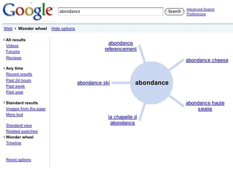 La roue magique de Google a disparu . | SocialWebBusiness | Scoop.it