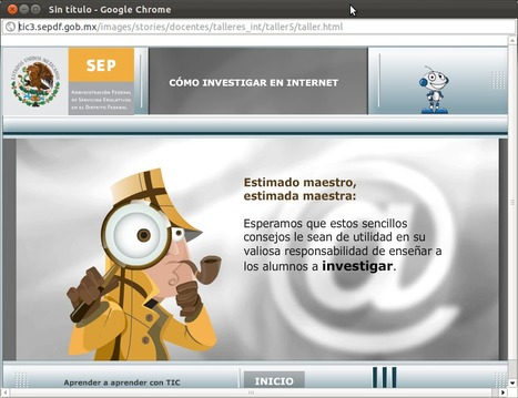 Ocho recomendaciones al investigar en Internet | Educación 2.0 | Scoop.it