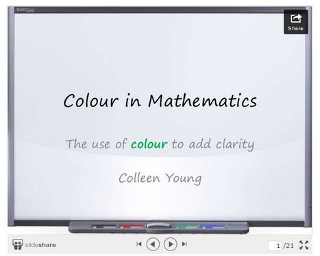 Using Color to Add Clarity in Math - Fractus Learning | EDCI280 | Scoop.it