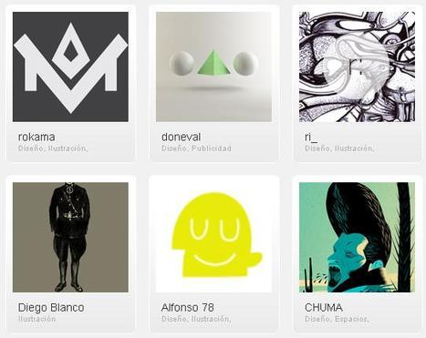 Red social para diseñadores que ofrece ofertas de empleos para ganar dinero con el arte | Negocios y Publicaciones | VIM | Scoop.it