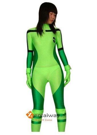 Multi-green Spandex Lycra X-men Rogue Costume [c059] - $42.00 : zentaiway.com | Amazing X-men Costumes | Scoop.it