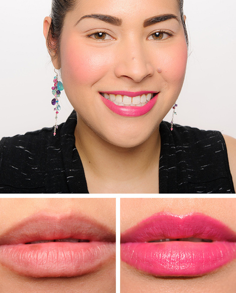 Chanel Conquise (144) & Rayonnante (145) Rouge Allure Lip Colours Reviews, Photos, Swatches | Chanel | Scoop.it