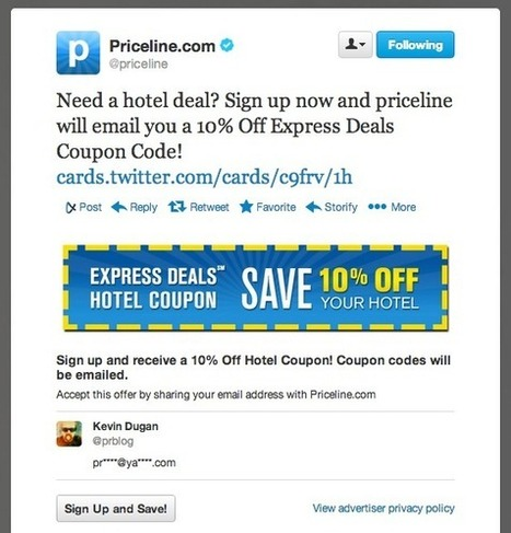 Twitter e le Lead Generation Cards   The Web-Mate   Twitter addicted   Scoop.it