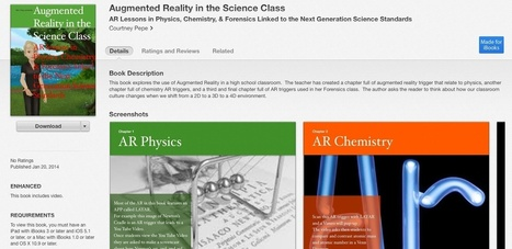 Pleased to Announce My New Free AR Science iBook ... | Highly Effective Teaching | Scoop.it