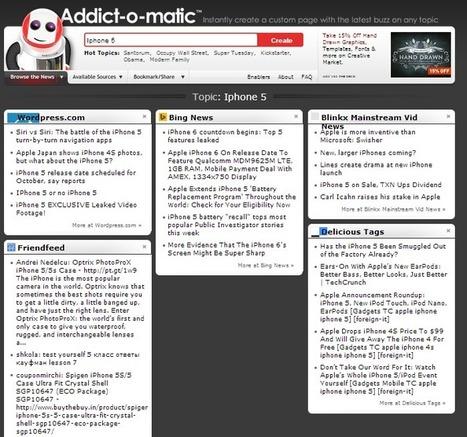 Outil de veille Addictomatic : Utilisation et avis sur la plateforme #Tutoriel | Veille et curation du web | Scoop.it