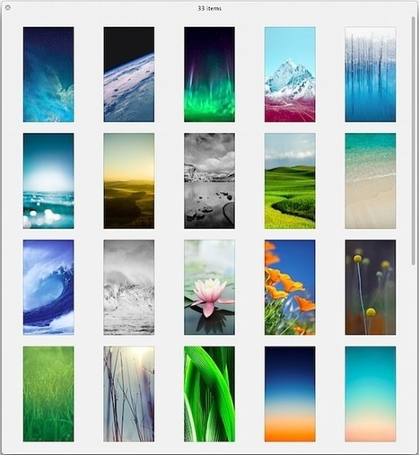 33 New Wallpapers from iOS 7 for iPhone & iPod Touch | il TecnoSociale | Scoop.it