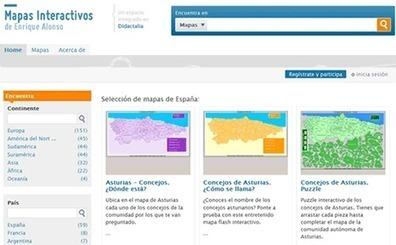 Mapas Flash interactivos   Recursos Educativos para ESO, Geografía e Historia   Scoop.it