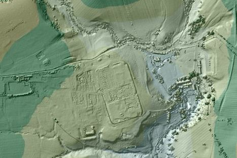 Amateur archaeologists are finding lost Roman roads using lasers | Location Is Everywhere | Scoop.it