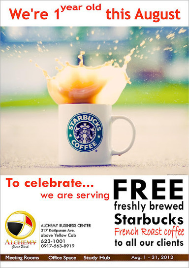 FREE Starbucks French Roast Coffee this August | Katipunan Gazette | Scoop.it