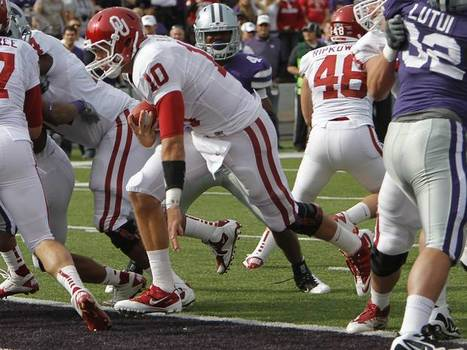 Stoops Has Belldozer Running Plays Like K-State Does For QB Klein | Sooner4OU | Scoop.it