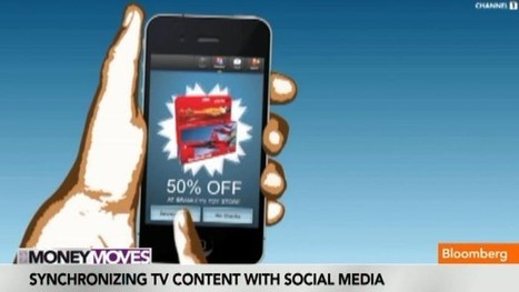 How to Synchronize TV Content With Social Media - Bloomberg [video] | screen seriality | Scoop.it