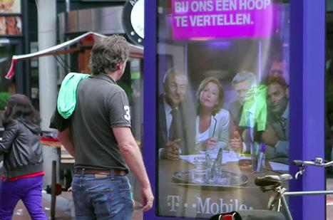 Street Marketing : Un panneau publicitaire qui sonde les clients directement à la sortie d'un magasin T-Mobile ! | STR33T Marketing | Scoop.it