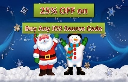 Buy Best iPhone Apps Source Code: Christmas Special Offer On Purchase of iOS App Source Code | iPhone App Source Code at MobileAppsGallery | Scoop.it