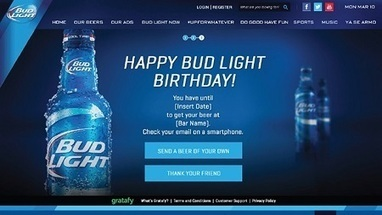 Budweiser trials 'birthday gift' mobile coupons with Facebook - Netimperative - News | Digital & Social Media | Scoop.it