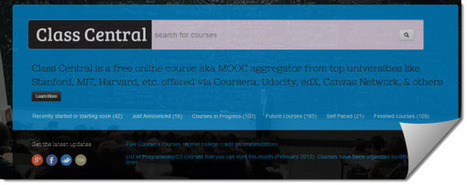 Class Central, una nueva opción para buscar cursos online | Herramientas TIC para el aula | Scoop.it