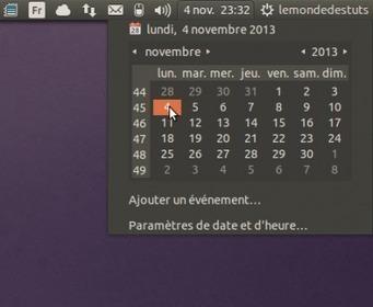 Disparition de l'indicateur de la date et l'heure sur la barre des notifications sous Ubuntu 13.10! Voici la solution. | tutoriel,astuce,tech, geek....... | Scoop.it