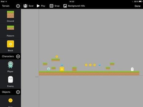 Crée ton propre jeu vidéo sur iPad avec Toy Engine (sans savoir coder) - Geek Junior - | Vie numérique  à l'école - Académie Orléans-Tours | Scoop.it