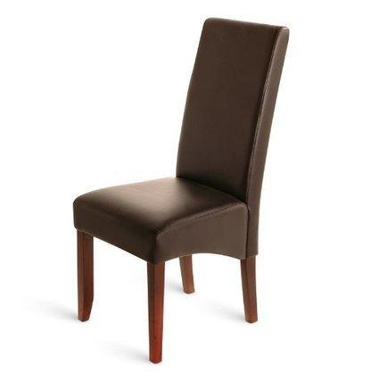 +++ Billige :    SAM® Leder Stuhl Florenz in braun mit kolonialfarbigen Beinen aus Pinienholz, angenehme Polsterung, pflegeleicht, teilzerlegt Auslieferung durch Paketdienst | Günstige Lederstühle | Scoop.it