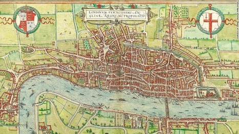 9 maps that reveal London's secret history from Shakespeare till today | Histgeog | Scoop.it