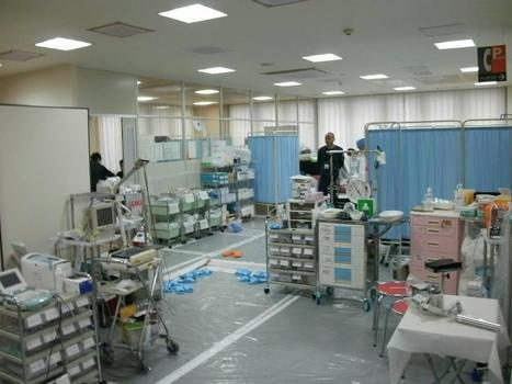 [Photos] Salle de Soin infirmier de Fukushima Daiichi - Tepco - septembre 2011 | Facebook | Japon : séisme, tsunami & conséquences | Scoop.it