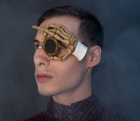 Handmade Wearable Monocle Art | Procrastination Daily | Scoop.it